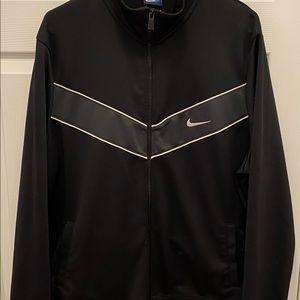 Nike Mens Black Zip Up Sweater - Size XL